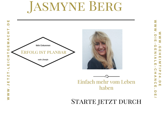 Jasmyne Berg mit Vizionary und dem Capricoin