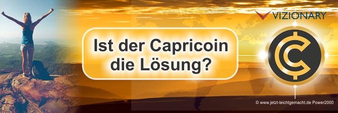Kryptowährung Capricoin die Lösung? Was hat die Bundesregierung mit uns vor?
