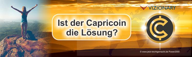 Capricoin die Lösung von Vizionary