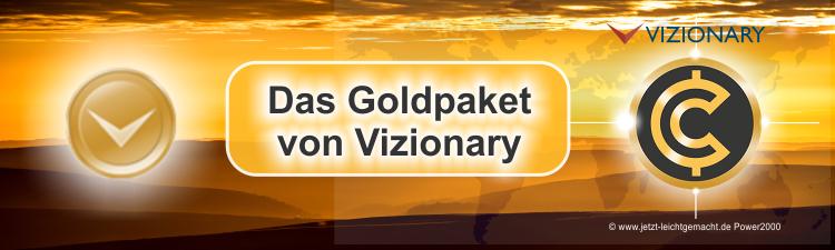 Das Gold Paket von Vizionary