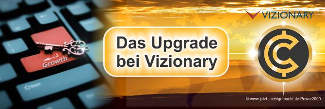Ein Upgrade bei Vizionary machen, Anleitung