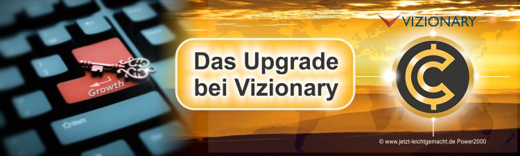 Upgrade bei Vizionary