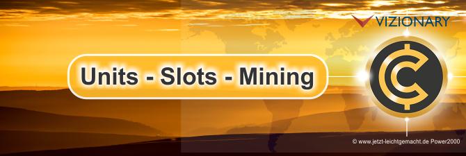 Vizionary Slots minen, wie geht das? Anleitung