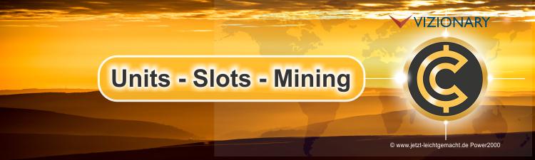 Units - Slots - Mining bei Vizionary Anleitung