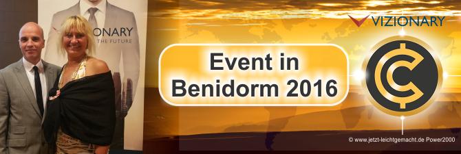 Warum sich eine Qualifikation beim Vizionary Event in Benidorm lohnt