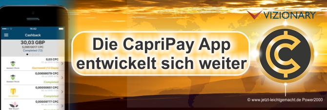 Krypto-Fans aufgepasst, die CapriPay App wird mit anderen Kryptowährungen bald …