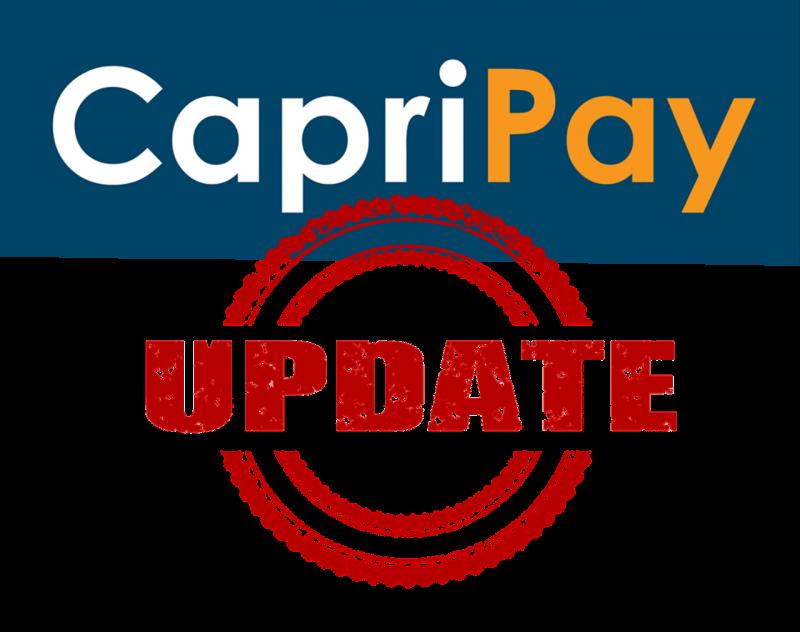 CapriPay Update