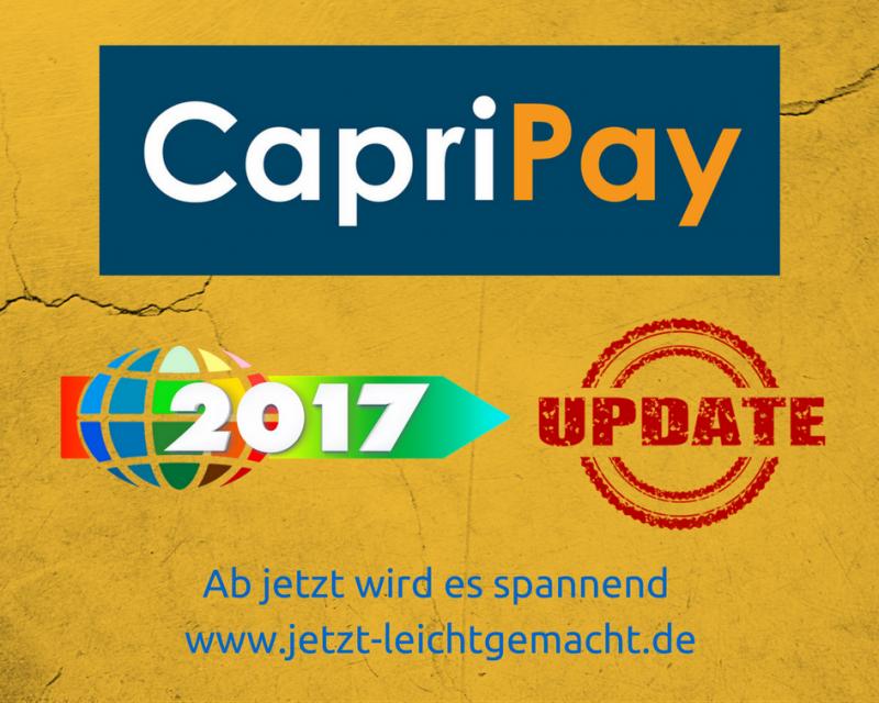 CapriPay App Update
