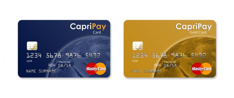 CapriPay App Mastercard