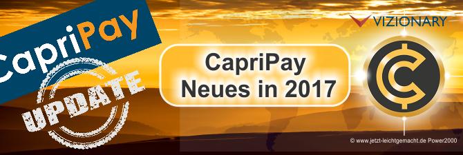 CapriPay App, das gebührenfreie alternative Zahlungssystem
