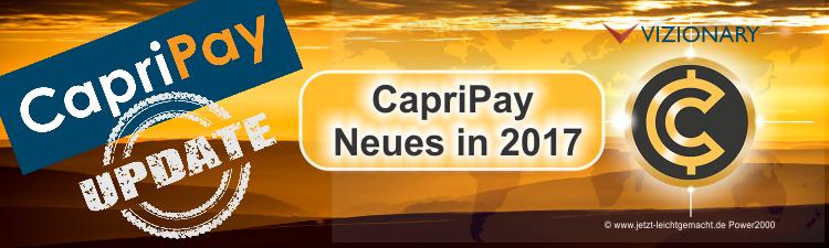 CapriPay App Update 2017