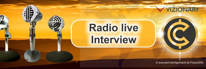 Als modernes Zahlungssystem – CapriPay und Vizionary live im Radio