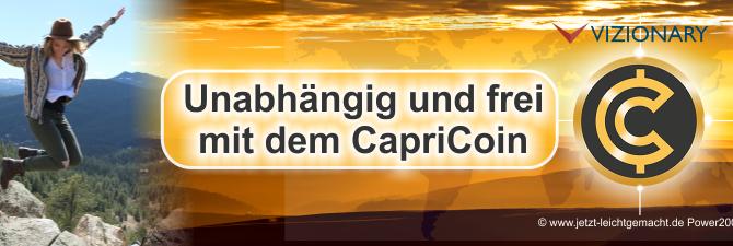 Unabhängig werden mit dem CapriCoin