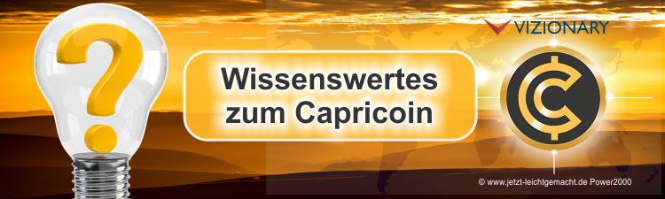 Wissenswertes zur Kryptowährung Capricoin