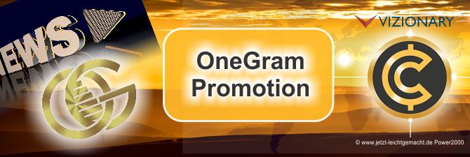 OneGram Promotion – Ein neuer Gigant im Kryptomarkt mit goldgedecktem Coin
