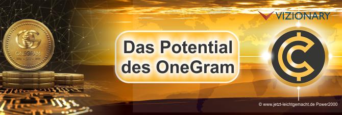Kann der OneGram Coin Fiat Geld unterstützen und was ist er eigentlich?