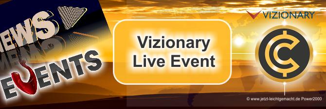 Vizionary live erleben – der nächste Event