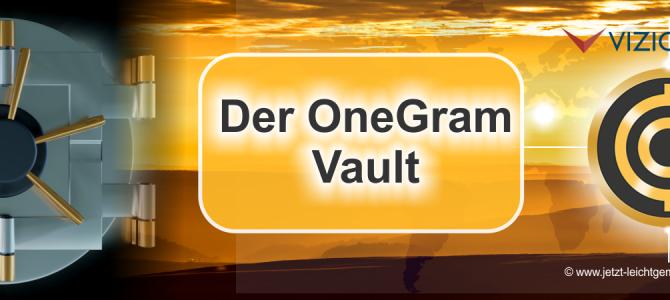 Wie man ein OneGram Vault anlegt – Anleitung