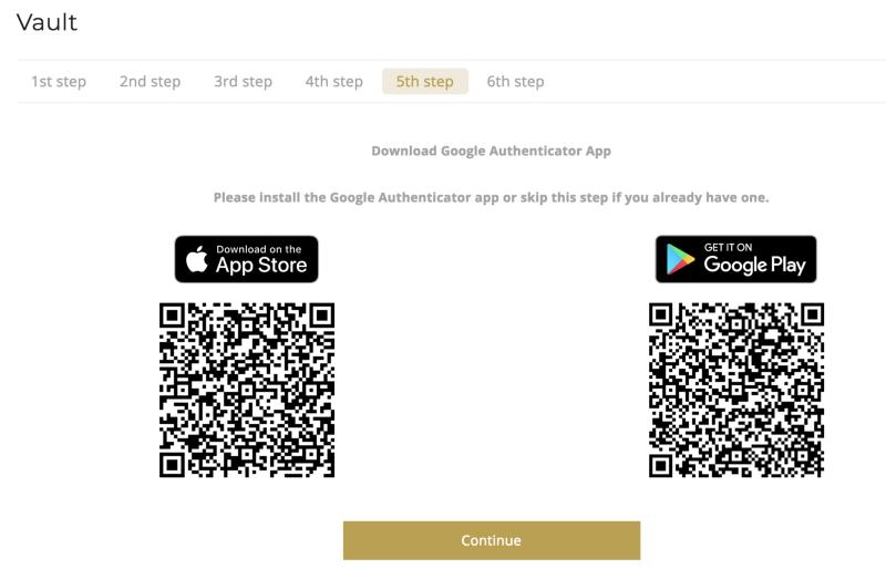 OneGram-Vault-Google-Auth-Download