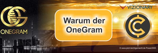 OneGram – Warum ich mich dafür entschieden habe