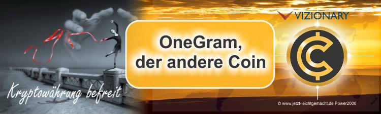 OneGram der besondere Coin