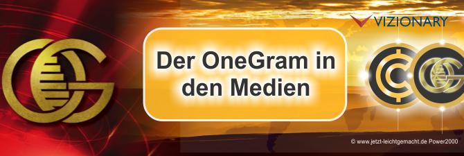 OneGram im Rampenlicht der Medien