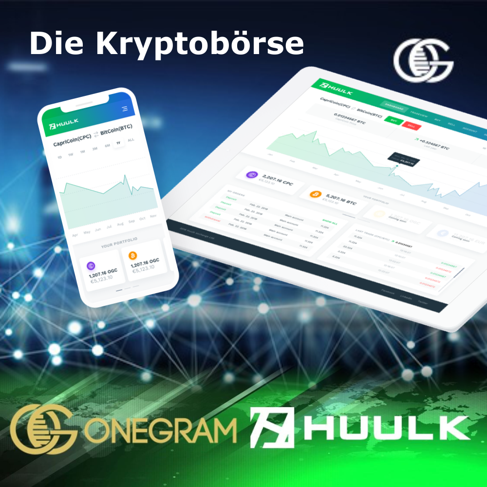 Huulk - die Kryptobörse