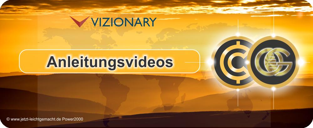 Vizionary Anleitung, Anleitungsvideos