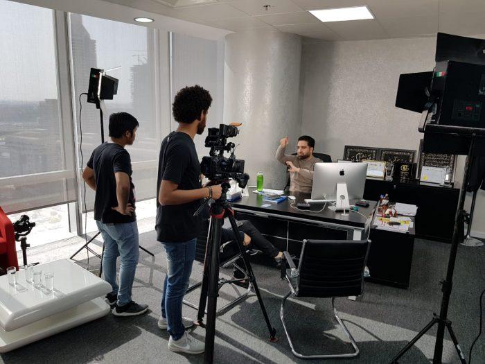 Vizionary Onegram Interview mit Euronews Channel